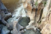 Escape Cycle Tours Botswana Bourke's Luck Potholes